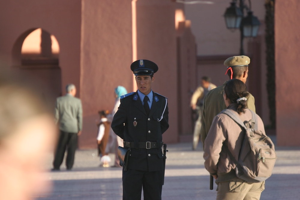 The Crime Rate in Marrakech