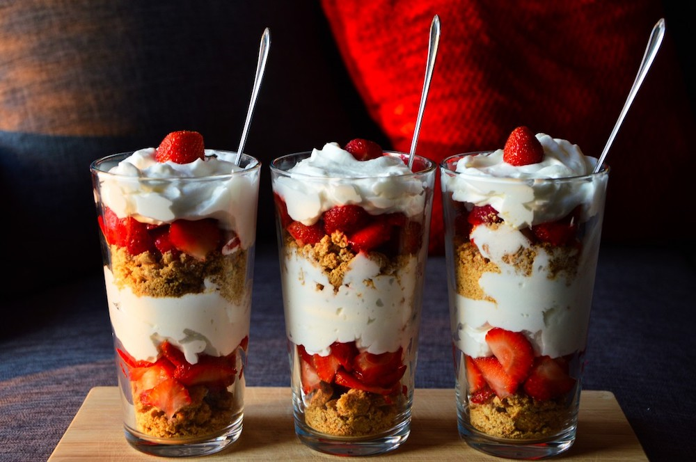 Top Five English Desserts To Make For Summer