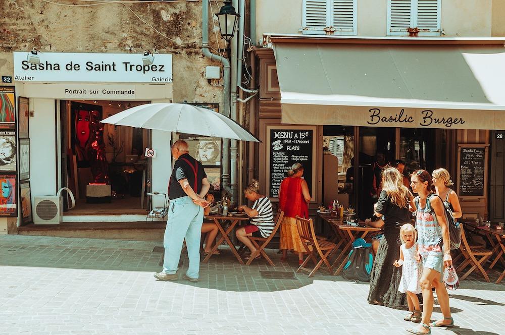 The Public Transport at Saint Tropez