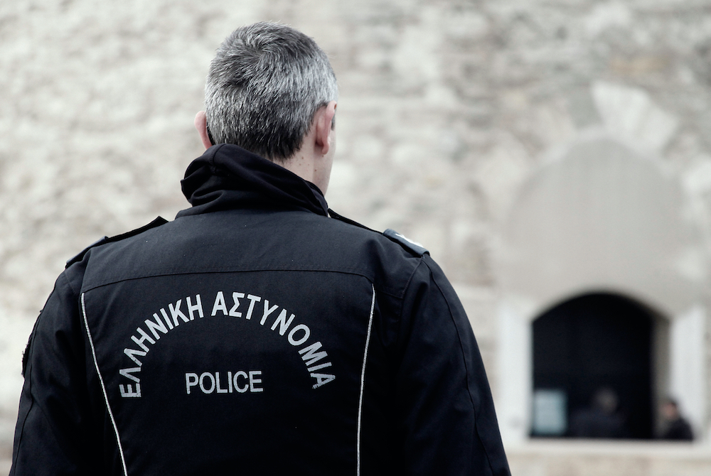 The Crime Rate in Santorini