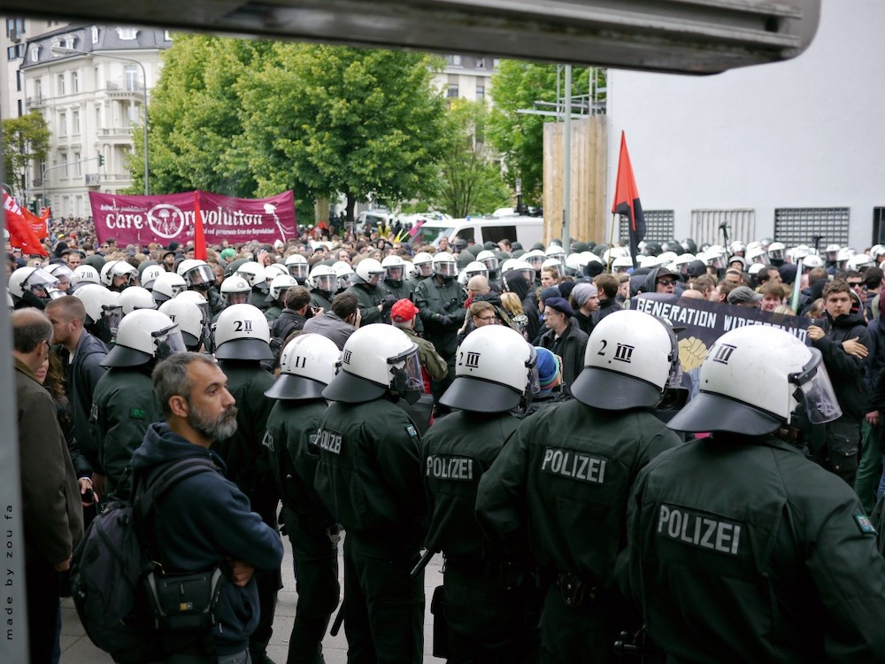 The Crime Rate in Frankfurt