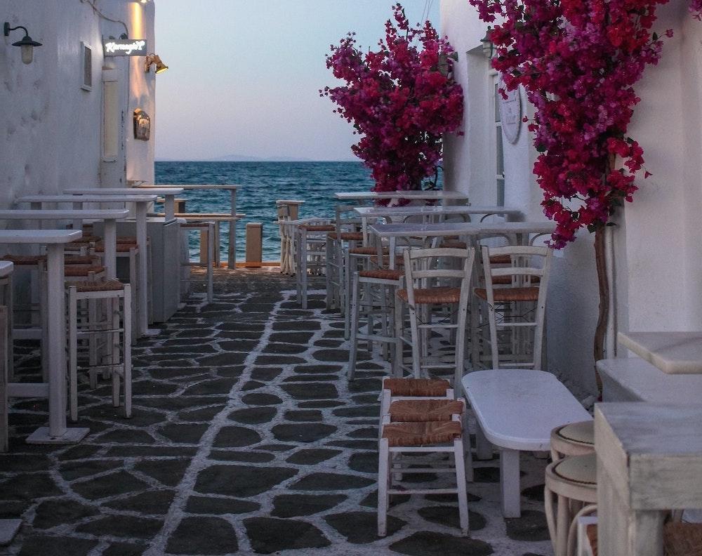 The Top Five Most Romantic Spots in Paros