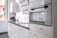 nice kitchen furnishings in Cannes Carnot Apartment 2BR luxury home
