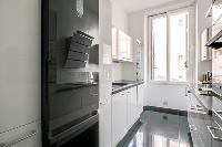 generous kitchen window of Cannes Carnot Apartment 2BR luxury home