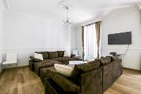 cool sitting room of Cannes Carnot Apartment 2BR luxury home