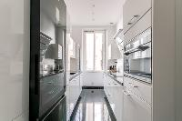 cool kitchen of Cannes Carnot Apartment 2BR luxury home