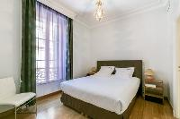 lovely bedroom of Cannes Carnot Apartment 2BR luxury home