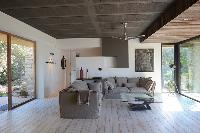 delightful sitting room of Corsica -Villa Agnellu luxury apartment
