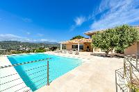 refreshing pool of Corsica - Di Paci luxury apartment