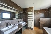 dashing bathroom of Corsica - Di Paci luxury apartment