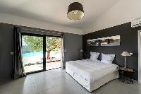 dapper bedroom of Corsica - Di Paci luxury apartment