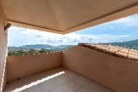 nifty balcony of Corsica - Di Paci luxury apartment