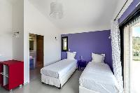 fresh and clean bedding in Corsica - Di Paci luxury apartment