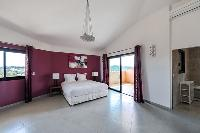 clean and fresh bedding in Corsica - Di Paci luxury apartment