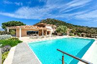 cool swimming pool of Corsica - Di Paci luxury apartment
