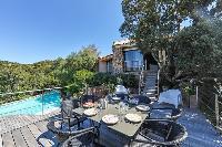 amazing deck of Corsica - Santa Giulia luxury apartment