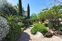 lovely and lush garden of Corsica - Santa Giulia luxury apartment