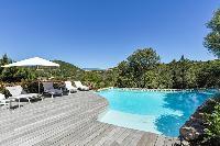 awesome poolside area of Corsica - Santa Giulia luxury apartment