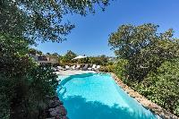 refreshing swimming pool of Corsica - Santa Giulia luxury apartment
