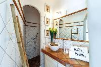 nice bathroom in Corsica - Santa Giulia luxury apartment