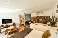 nice sitting area in Corsica - Santa Giulia luxury apartment