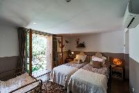 charming bedroom of Corsica - Santa Giulia luxury apartment