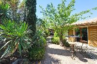 cool outdoor furnishings in Corsica - Santa Giulia luxury apartment