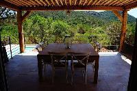 awesome pergola of Corsica - Colomba luxury apartment