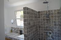 interesting bathroom interiors of Corsica - Colomba luxury apartment