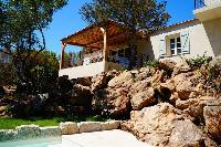 impressive architecture of Corsica - Colomba luxury apartment