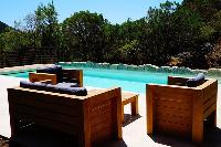 awesome poolside of Corsica - Colomba luxury apartment