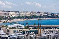 refreshing Mediterranean view from Cannes Apartment Festival II luxury home
