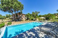 cool poolside area of Corsica - Maquis luxury apartment