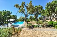 lush and lovely garden of Corsica - Maquis luxury apartment