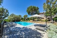 awesome swimming pool of Corsica - Maquis luxury apartment