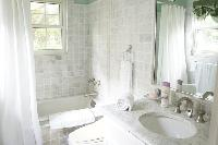 spic-and-span bathroom in New Providence Serendip Cove luxury vacation rental
