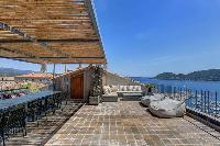 splendid sea view from Corsica - U Portu luxury apartment