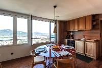 homey and hearty kitchen of Corsica - U Portu luxury apartment