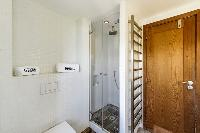 cool rain shower in Corsica - U Portu luxury apartment