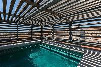 cool pool at Corsica - U Portu luxury apartment