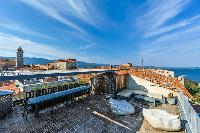 cool roof terrace of Corsica - U Portu luxury apartment