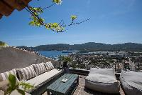 breathtaking view from Corsica - U Portu luxury apartment