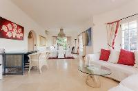 breezy and bright Cannes Villa Les Terrasses luxury apartment