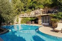 rejuvenating pool of Cannes Villa Les Terrasses luxury apartment