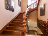 nice staircase of Cannes Villa L'Autre Temps luxury apartment