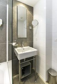 neat and trim bathroom of Cannes Apartment Festival III luxury home