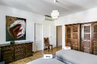 neat furniture in Cannes Apartment Deneuve luxury apartment