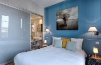 nice bedroom of Cannes Apartment Starlette I luxury home