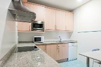 modern kitchen appliances in Barcelona - Paseo de Gracia 4BR luxury apartment