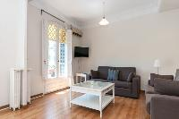 delightful sitting area in Barcelona - Paseo de Gracia 4BR luxury apartment